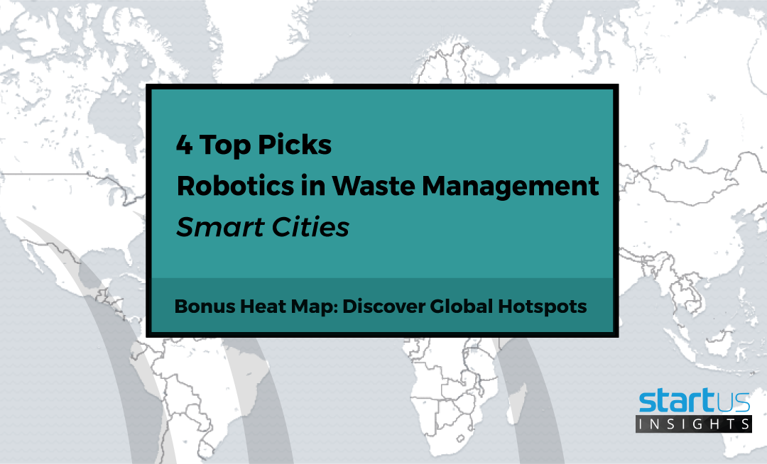 Top Robotics Startups For Waste Management